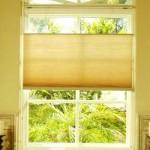 HoneyComb Cellular window shading for a Nursery