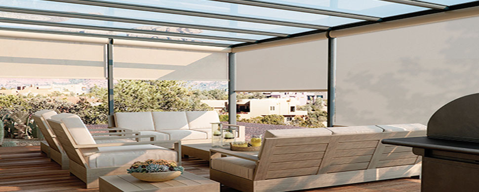 Exterior window treatments a prerequisite for Motorized exterior solar window shades