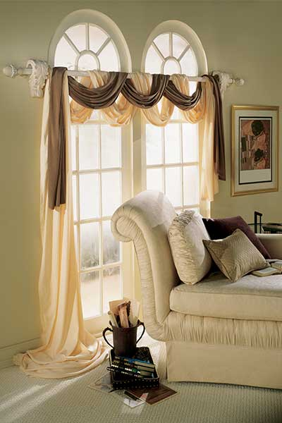 Drapery-Swags - ZebraBlinds.com