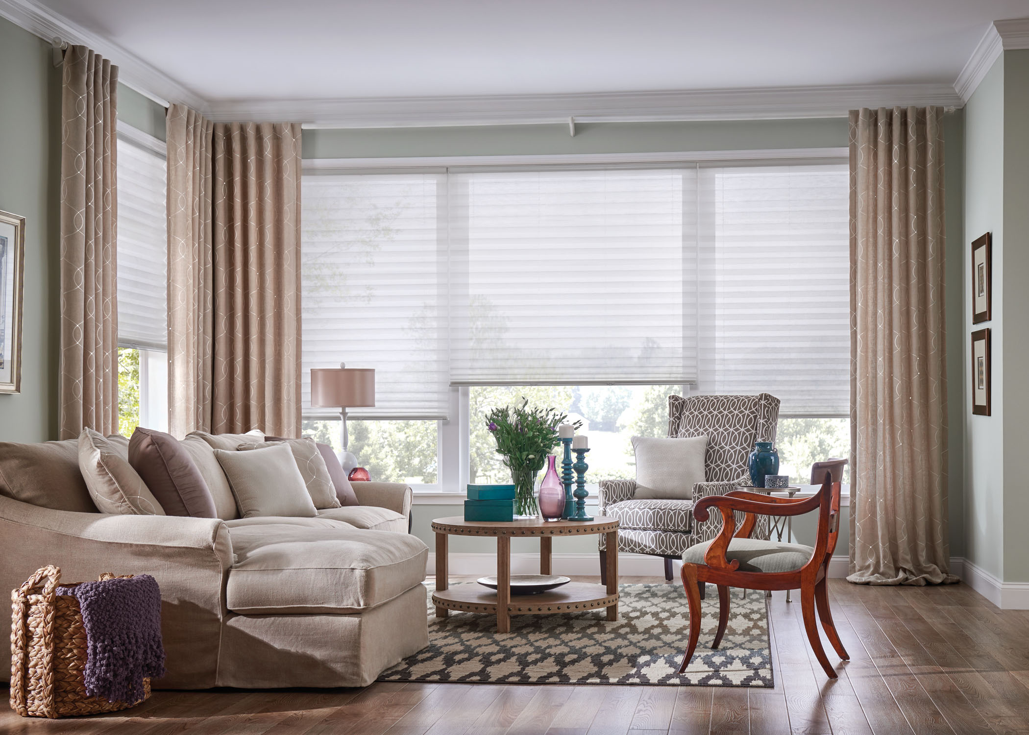 Mix & Match Curtains with Blinds - Step-by-Step | ZebraBlinds