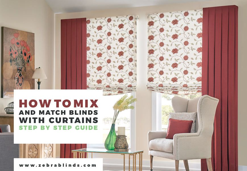 Pictures of blinds and curtains together curtain for Curtains and blinds together