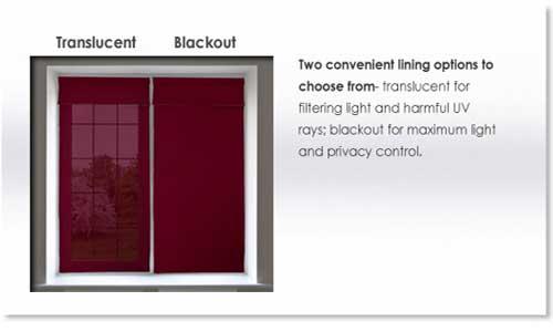 Blackout-Translucent-liners - ZebraBlinds.com