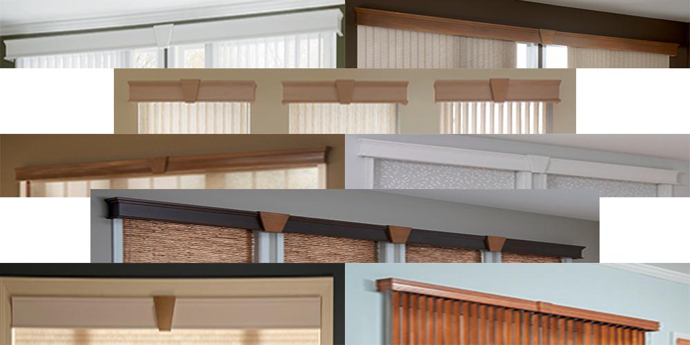 Wood-KeyStones-Cornices-Valances - ZebraBlinds.com
