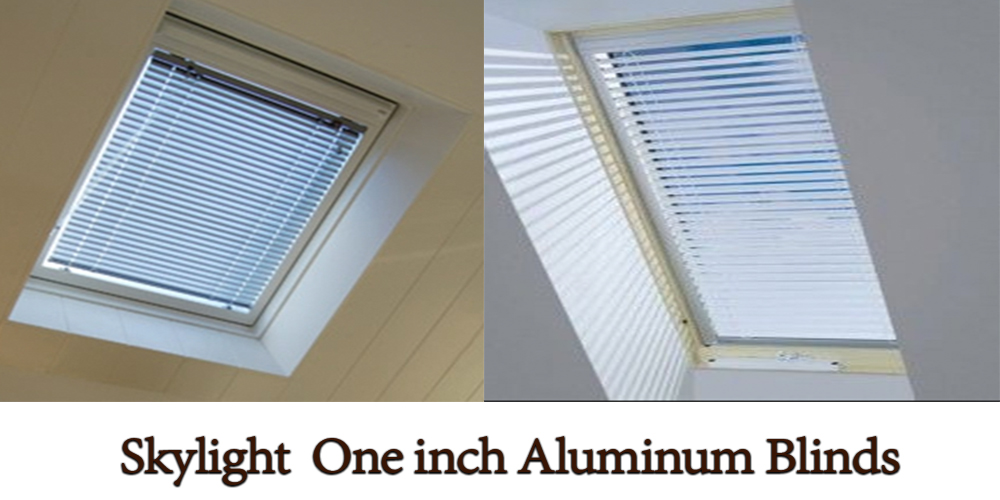 Skylight-Aluminum-Blinds - ZebraBlinds.com