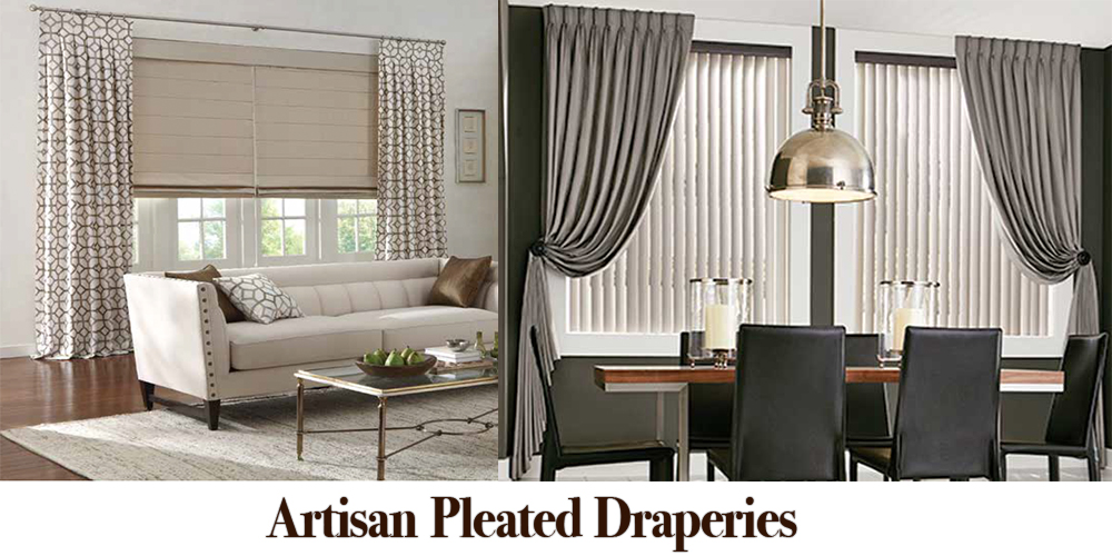 Artisan-Pleated-Draperies - ZebraBlinds.com