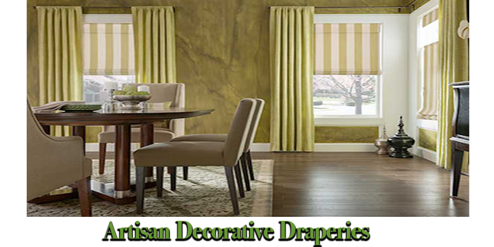 Artisan-Decorative-Draperies - ZebraBlinds.com