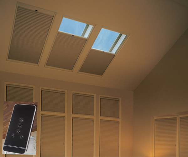 the redeemer of skylights motorized blackout cellular shades
