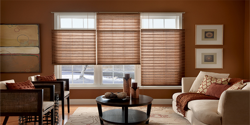 Graber Pleated Window Shades With Bottom Up Top Down