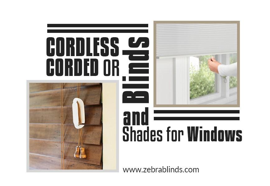 Cordless vs Corded Blinds