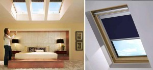 Remote Control Skylight Blinds Shades