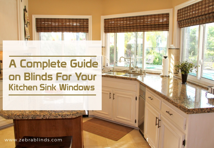 Blinds for Kitchen Sink Windows