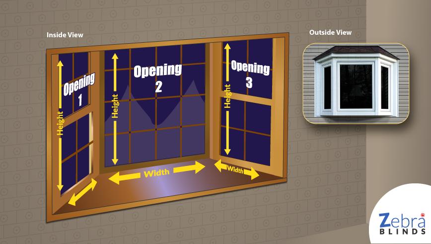 How to measure bay windows