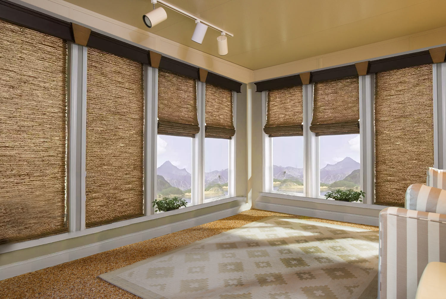 Easy ways to decorate your room with eco friendly window treatments. Easy way to decorate the room with eco friendly window treatments