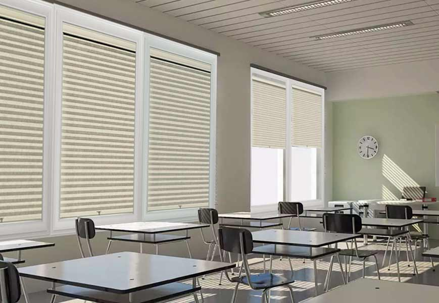 Natural-Light-Filtering-Cellular-Shades - Zebrablinds.com