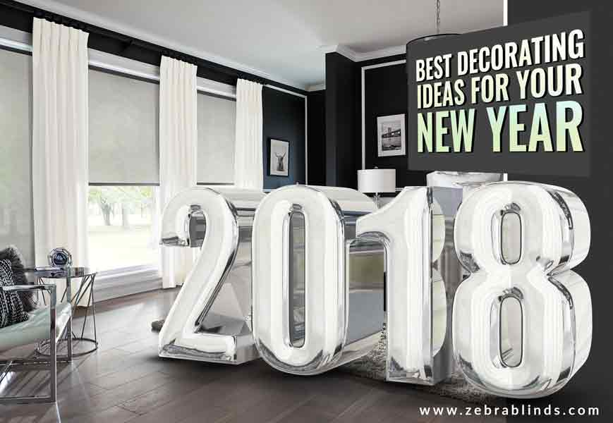 Window Decorating Ideas for New Year | ZebraBlinds