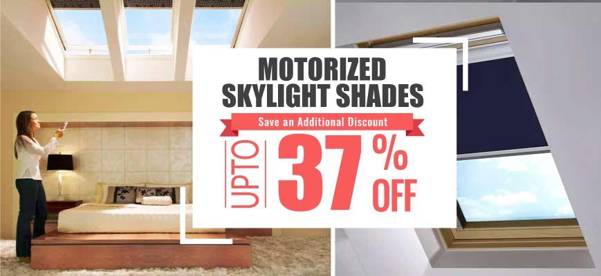 Motorized Skylight Shades
