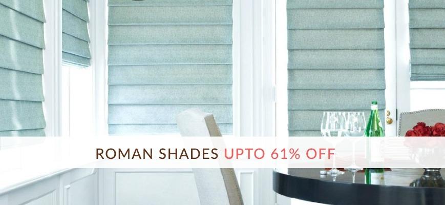 Discount Roman Shades Online