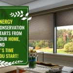 Energy Conservation Starts FromYourHome, and It's Time YouStart!