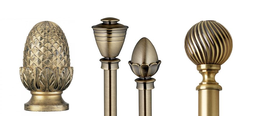 Finials for Curtains