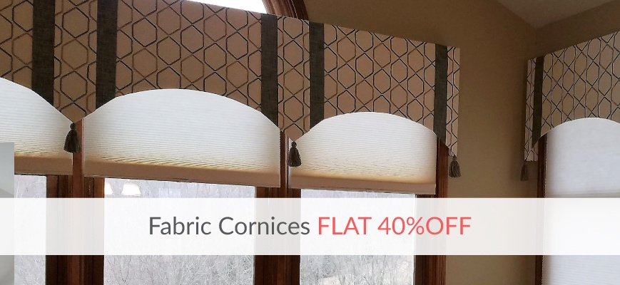 Fabric Window Cornices