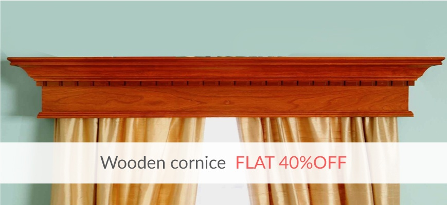 Wooden Cornice Boards