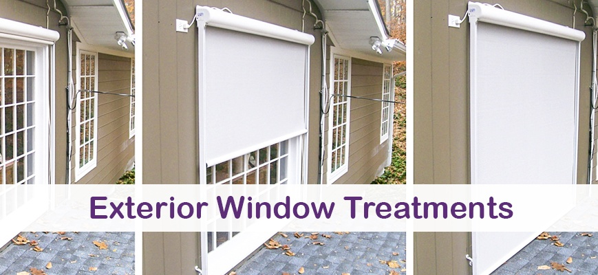 Exterior Window Treatments