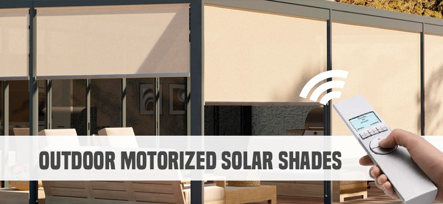 5 reasons you 39 ll fall in love with automatic window shades for Exterior motorized solar shades