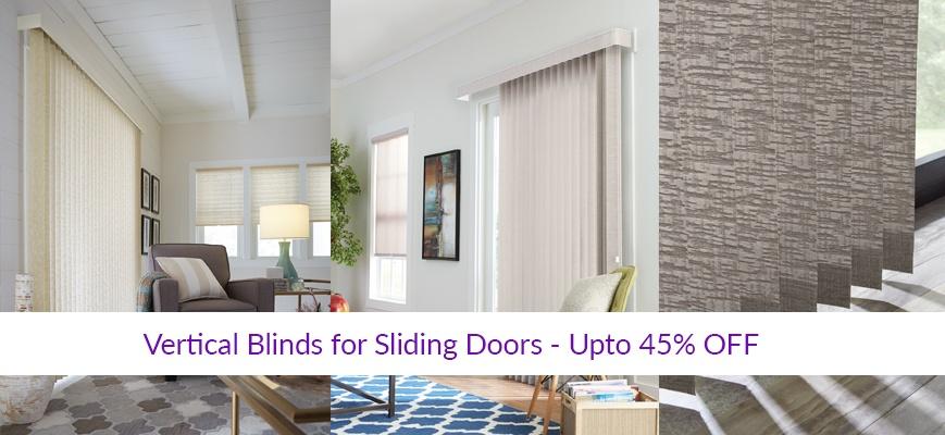 Vertical Blinds for Sliding Doors