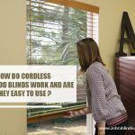 How Do Cordless Faux Wood Blinds Work andAre They Easy to Use?