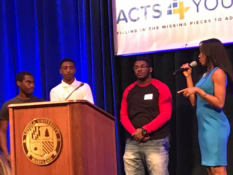 Rayshawn describes what he gained from Acts4Youth