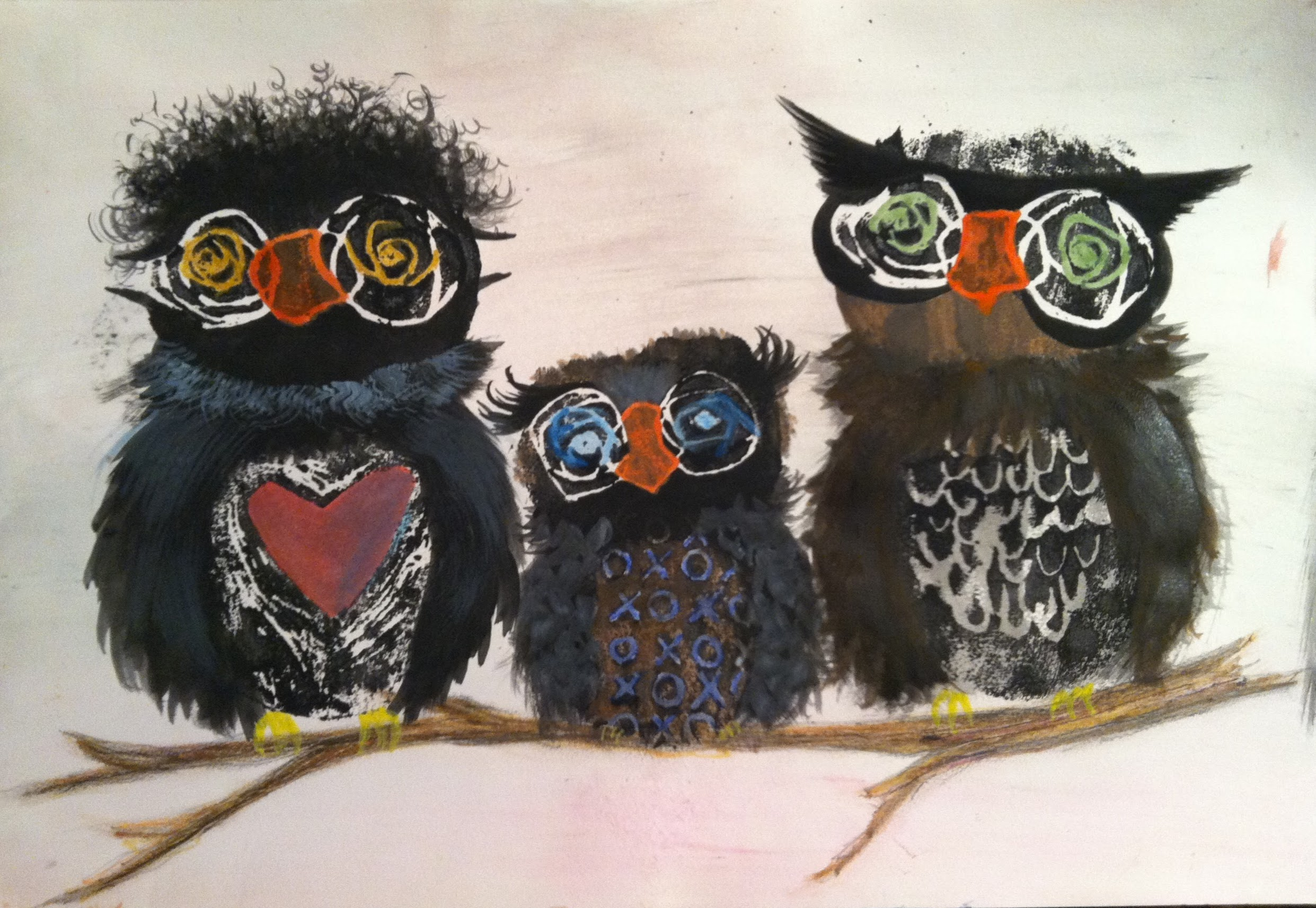 Owls by Rachael Compart