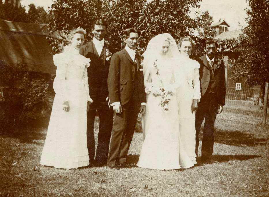 Ida Hilke and Christian Sperber wedding photograph