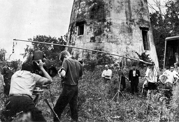 Still scene from Man on A Mission