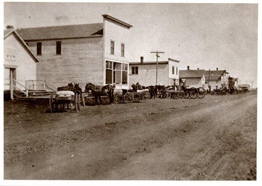 Pemberton's Main Street, 1915