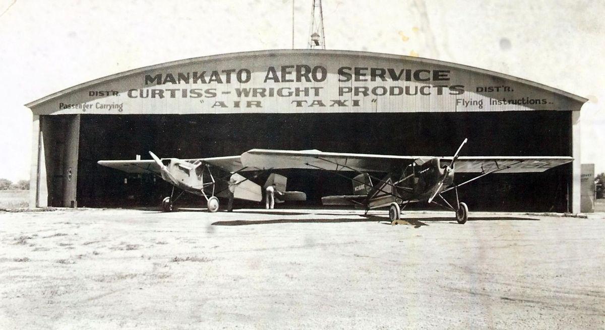 Mankato Airport, 1930s
