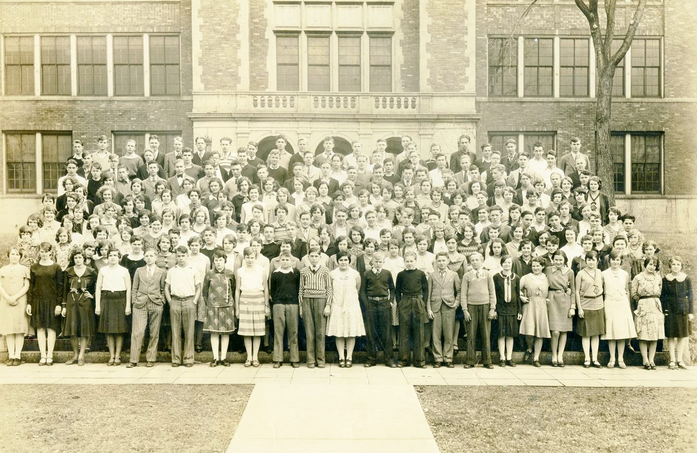 Sophomore Class of Mankato High School, 1931