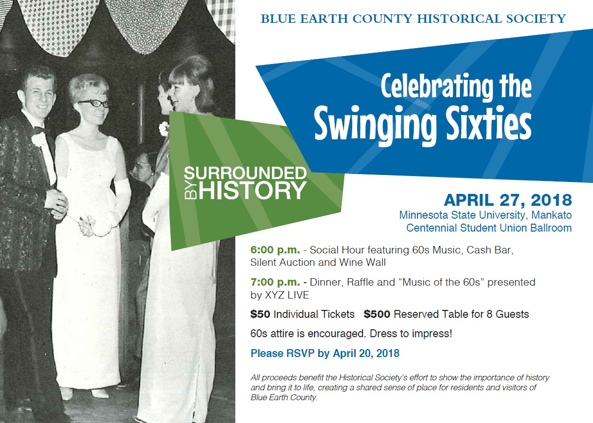 You are invited the the 7th Annual Surrounded By History on April 27, 2018 starting at 6 p.m.