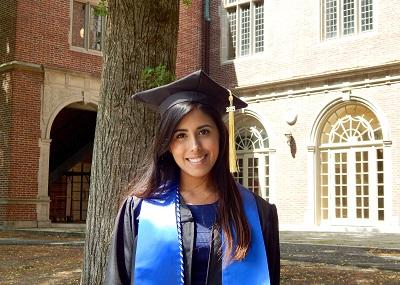 Flor at Wellesley Graduation