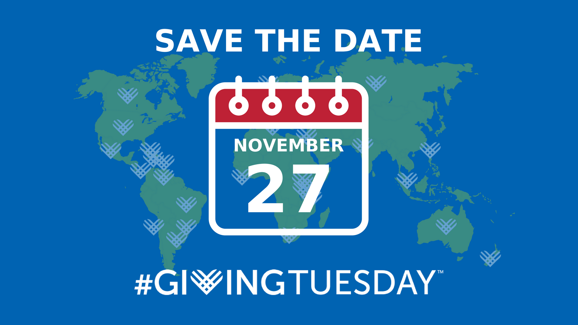 #GivingTuesday 2018 save-the-date