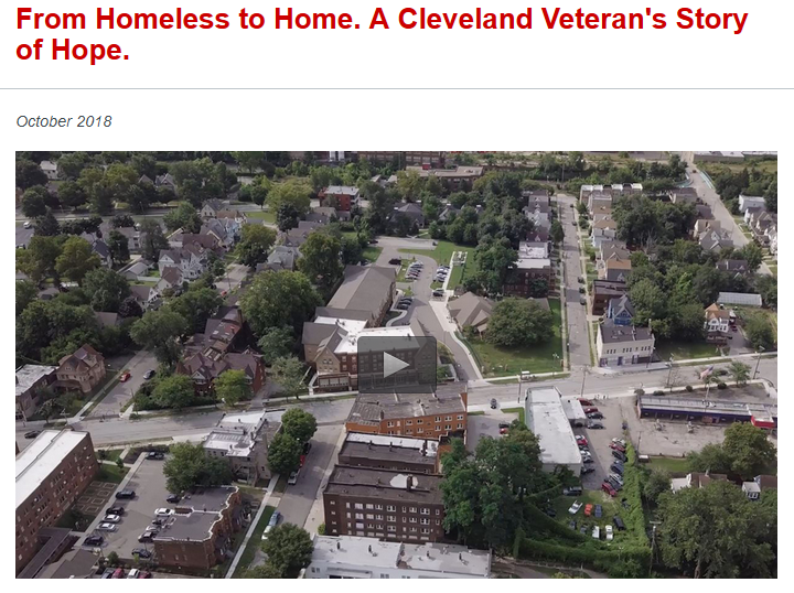 """Click here to view """"Homelessness to Home"""" video"""