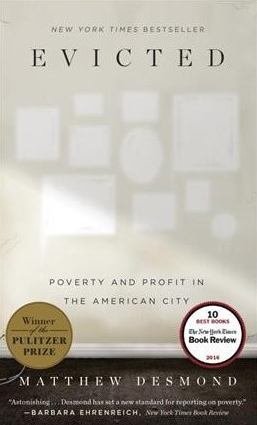 """Evicted"" book cover"