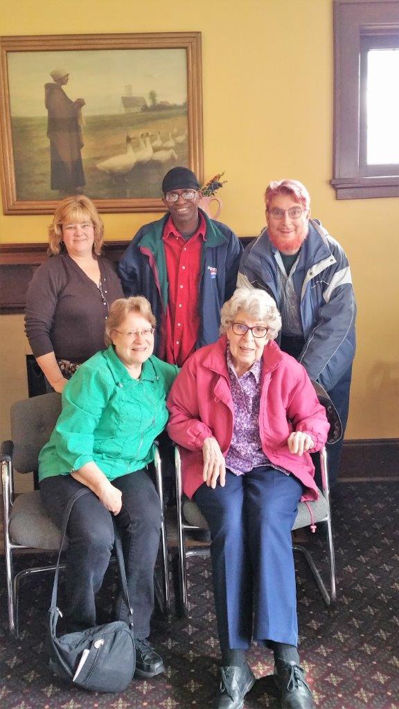Diana Kragt, Fletcher Shepherd & Pam Stedfeld family members, 3/16/18