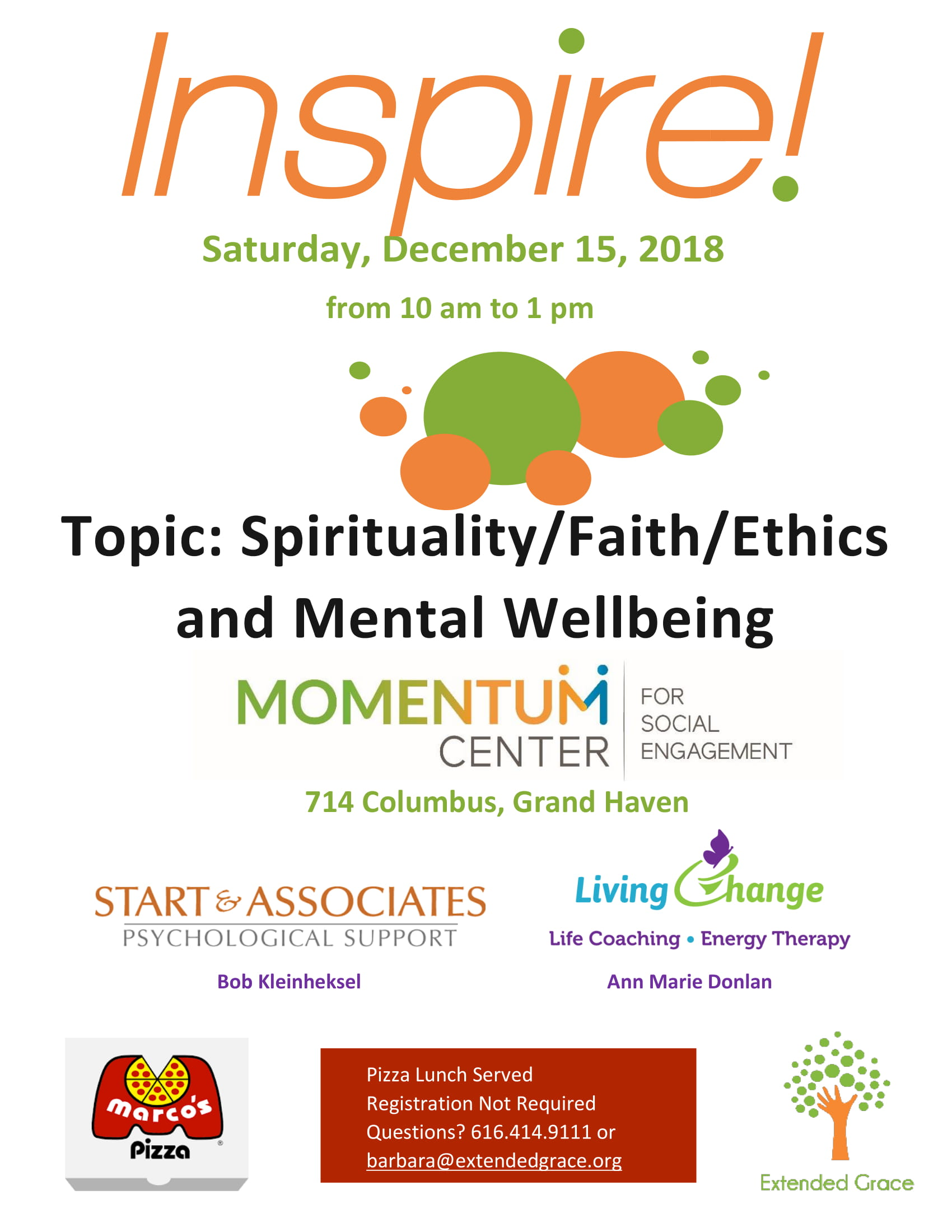 Inspire! Event on Spirituality