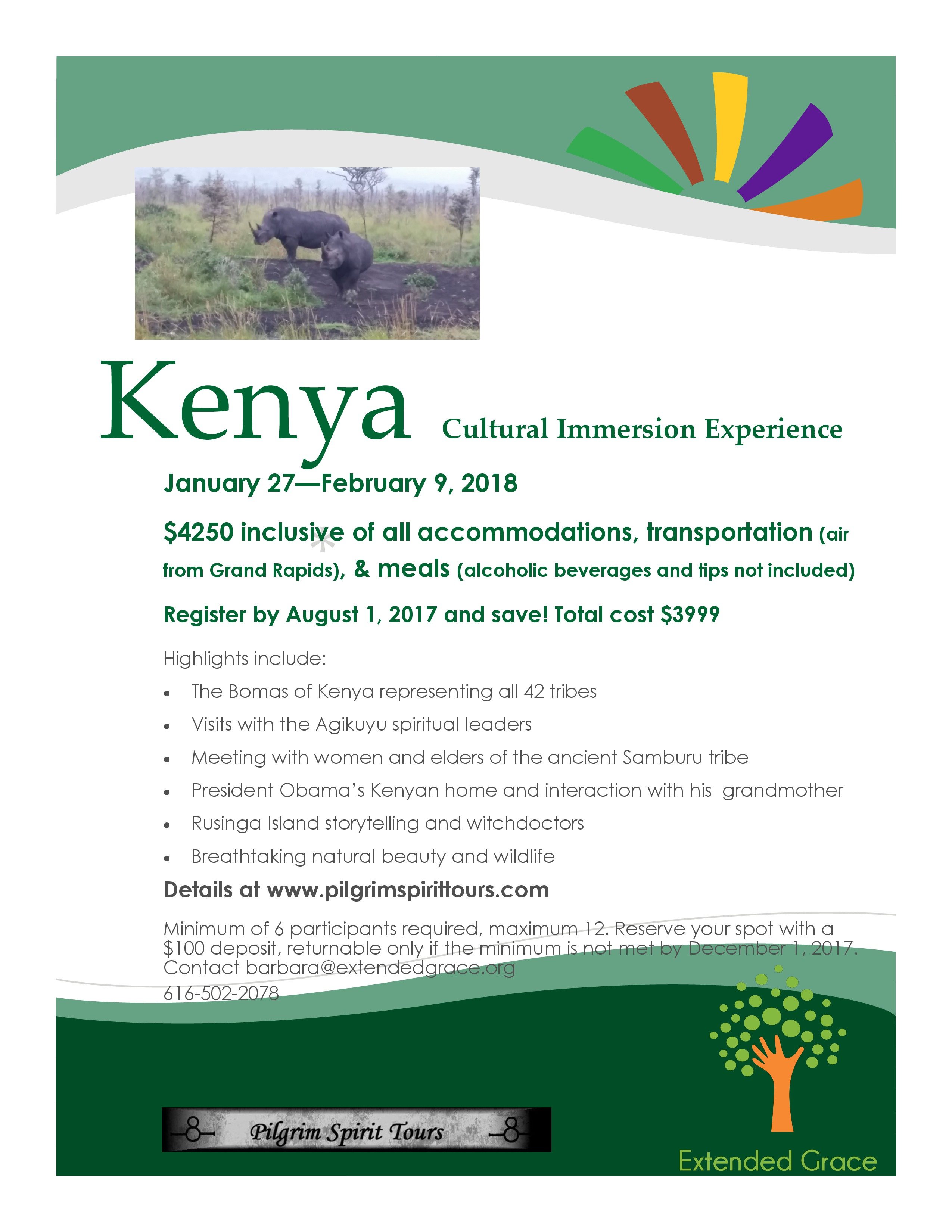 Kenya flyer