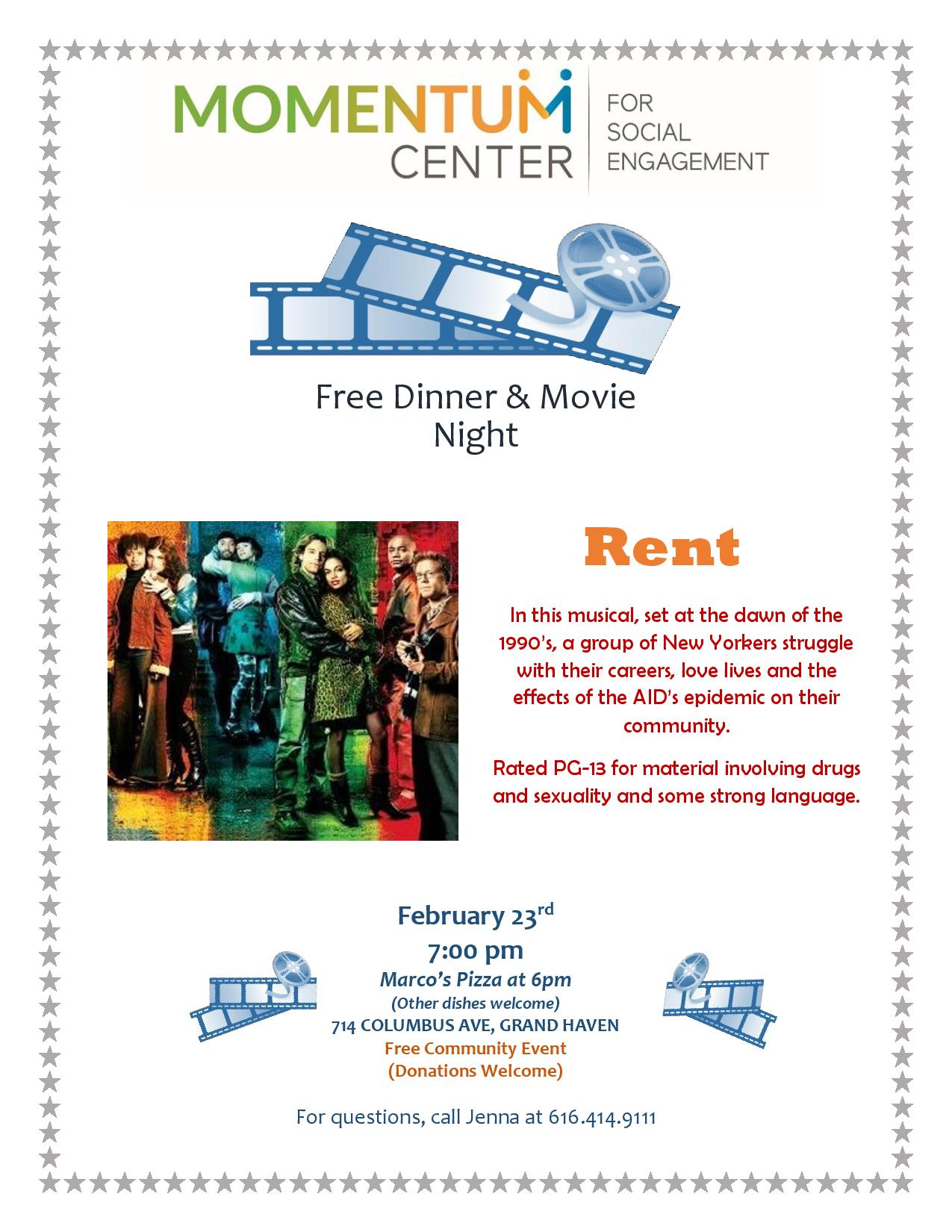 MOVIE NIGHT February 2018