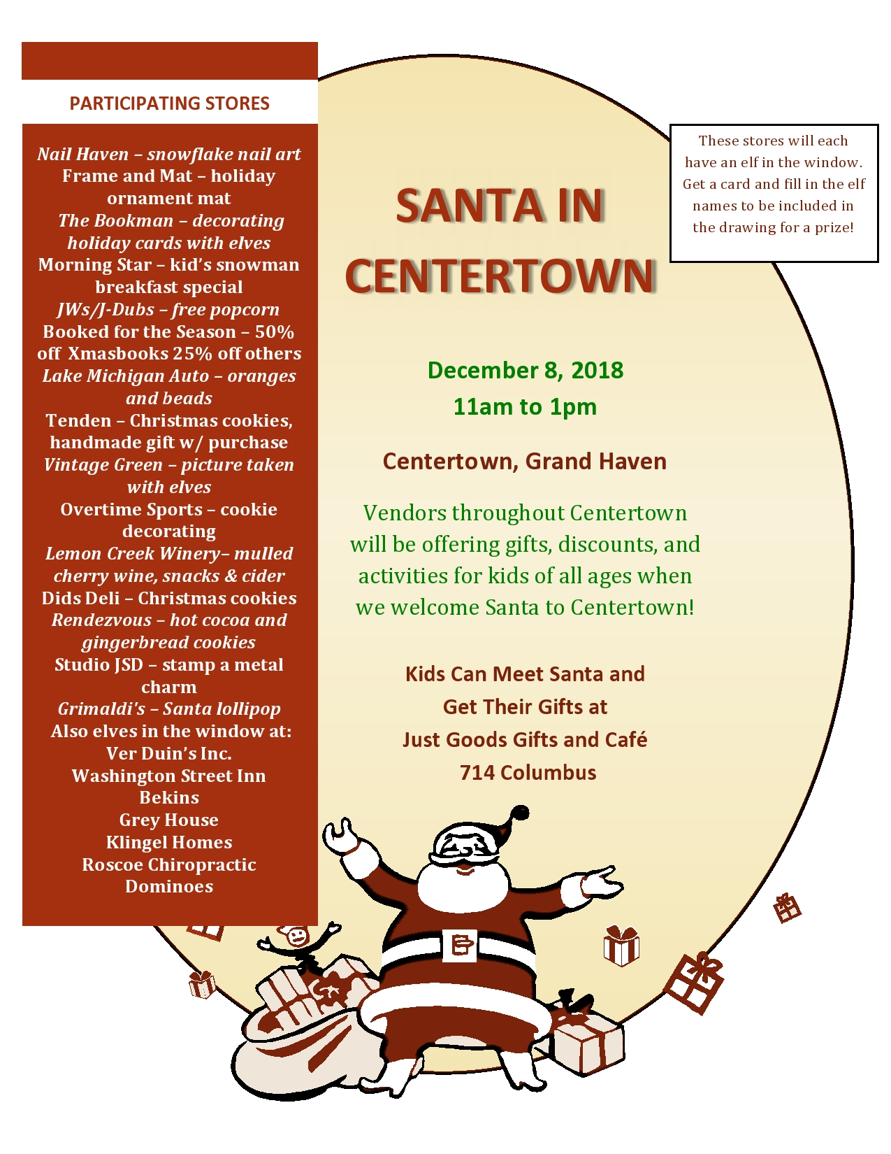 Santa in Centertown