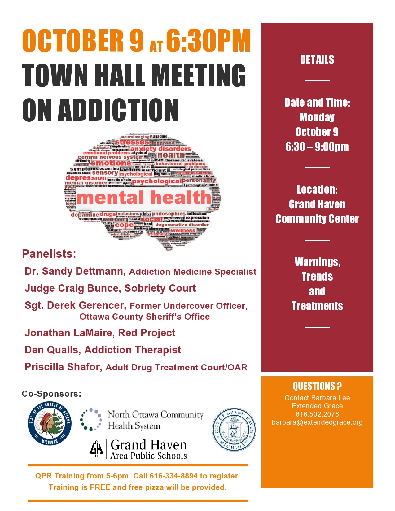 Town Hall Meeting Oct. 2017
