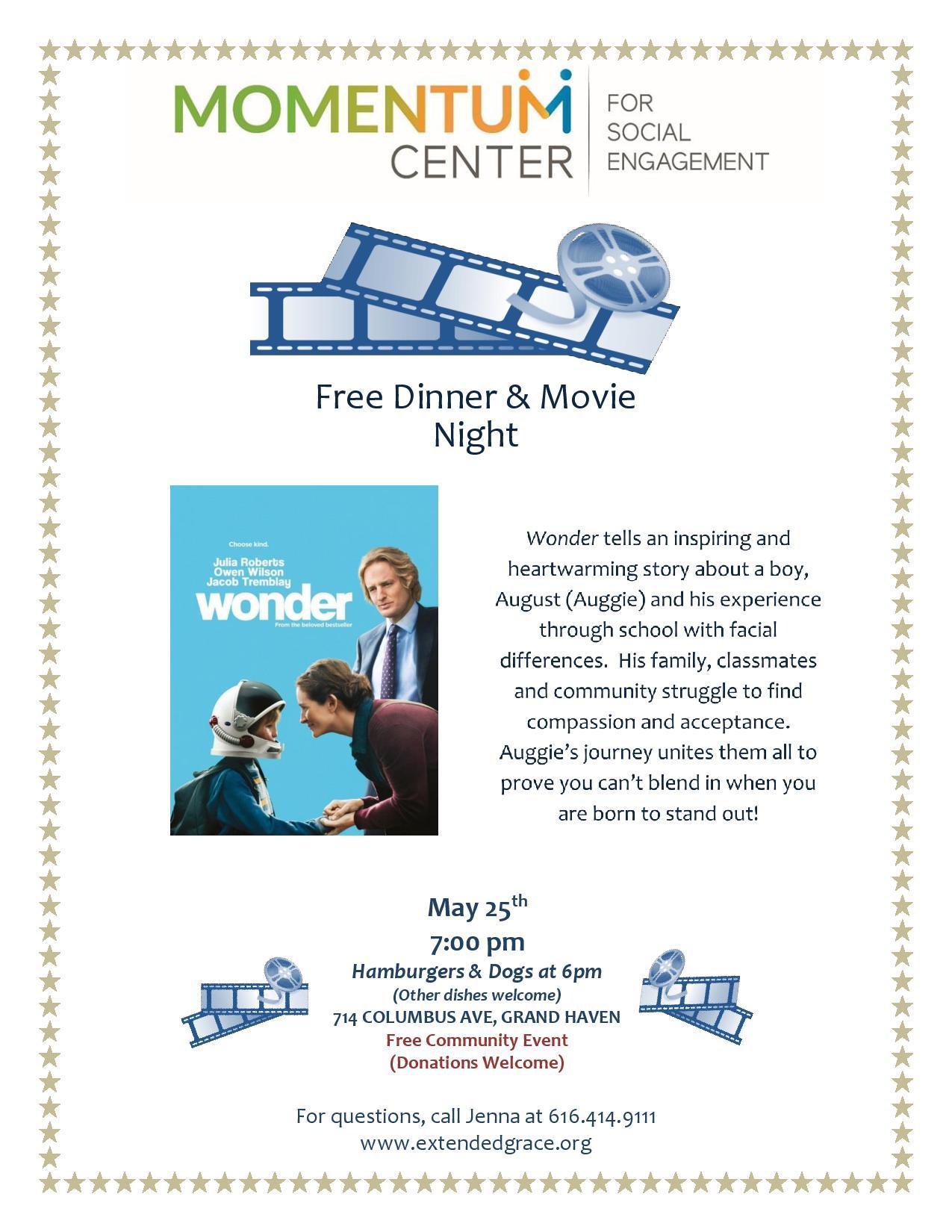 Movie Night - Wonder