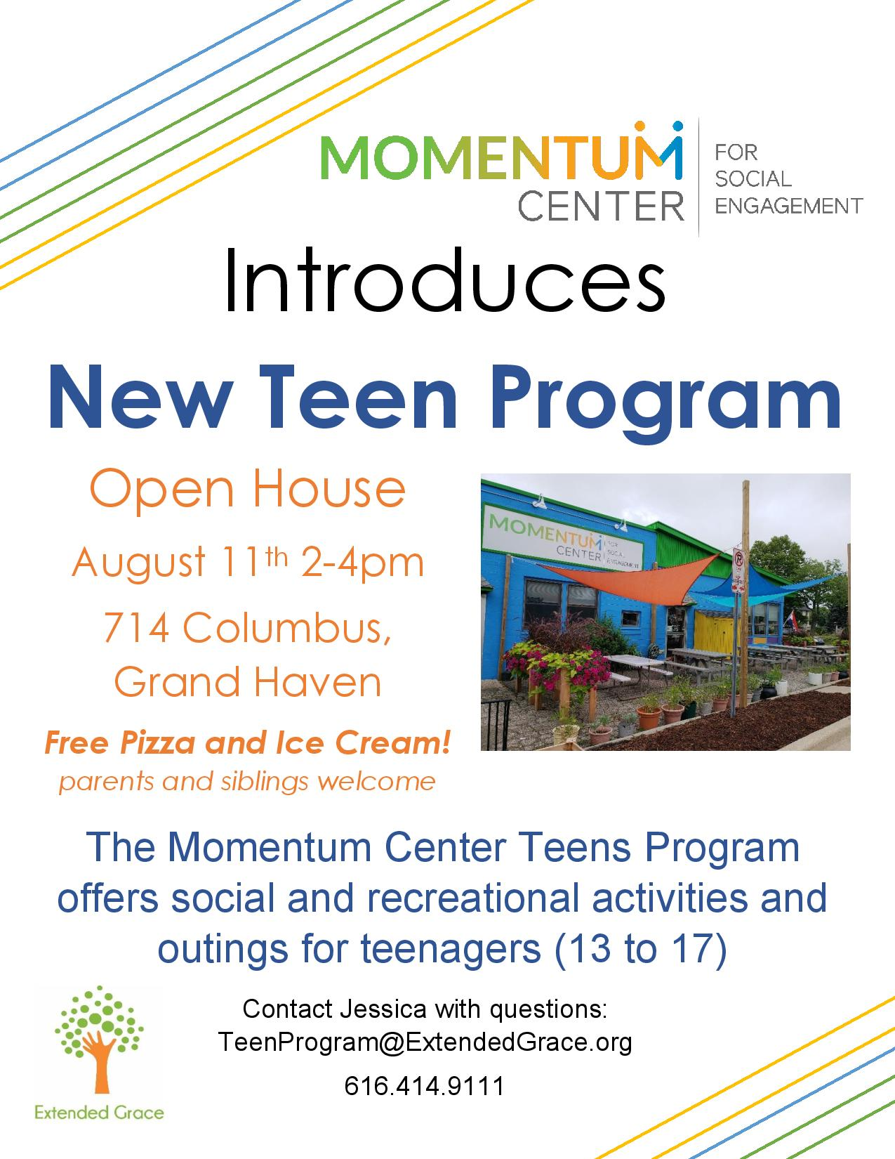 Teen Program Open House