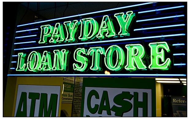 Payday storefront